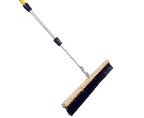 Telescopic Concrete Brush