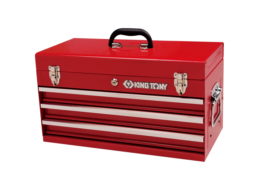 KING TONY 87401-3M 3 DRAWER ROLLER BEARING PORTABLE TOOL CHEST